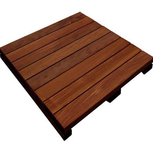 10 Pcs Ipe Deck Tiles 24' x 24'
