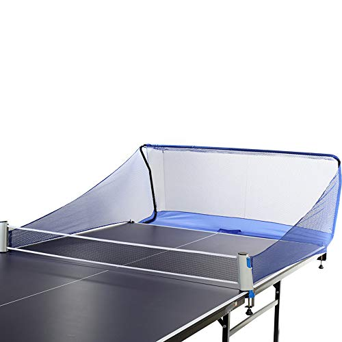 OUKANING Tischtennis Ball Fangnetz für Tischtennis Roboter Tischtennisball Auffangnetz für Ballmaschine
