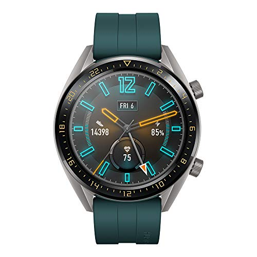 Huawei Watch GT Active - Reloj Inteligente, Verde, 46 mm, Reloj ...