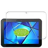 Vaxson 3 pezzi pellicola protettiva compatibile con Toshiba REGZA Tablet AT501 10.1', pellicola protettiva per lo schermo senza bolle [vetro temperato)