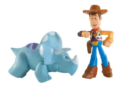 Toy Story color Wasserkummpels 2 Pack - Woody y Trixie [UK Import]