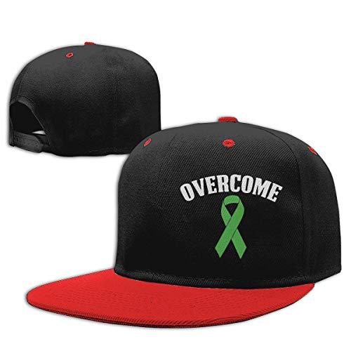 Gorra de béisbol de Baby Boy Superado cáncer de hígado Ajustable Hip Hop Hat