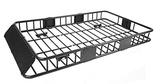 KCHEX 64' Universal Black Roof Rack Cargo Carrier w/with...