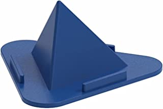Portable Pyramid Shape Mobile Stand For BLU View Mega Three-Sided Pyramid Angle Shape Adjustable Mobile Cell Phone Desktop...