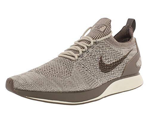 Nike Mens Free Rn Flyknit Fabric Low Top Lace Up Running, Brown, Size 10.0
