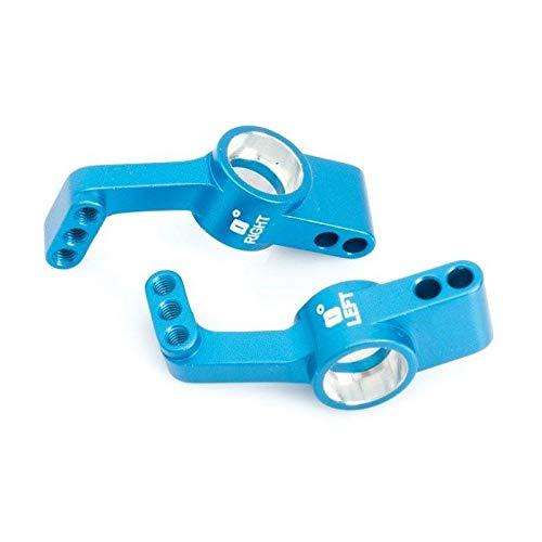 XCQ Racing Metall Upgrade Teile Radträger hinten 7189 RC-Autoteile für LRP 1/10 Buggy Truc dauerhaft 0316 (Color : Blue)