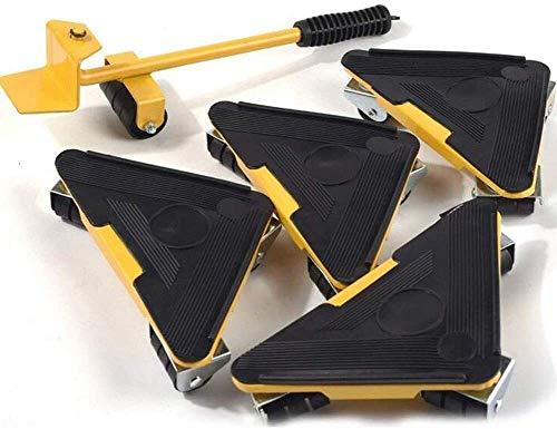 genneric Möbel bewegen Artifact mit ergonomischer Komfort-Handgriff, Belastbarkeits 250KG, Flaschenzug 360 Grad-Umdrehung