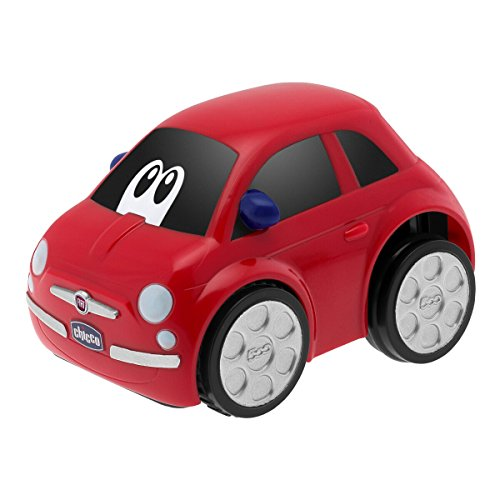 Chicco- Turbo Touch Fiat 500 Rojo, Color (7331070000)