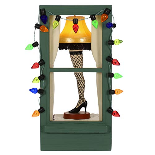 Hallmark Keepsake Ornament 2019 Year Dated A Christmas Story Mr. Parker's Pride and Joy Leg Lamp with Light