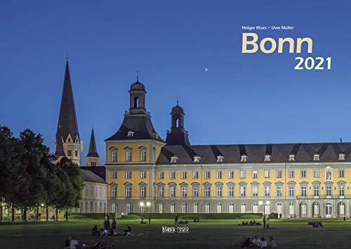 Bonn 2021 Bildkalender A3 quer, spiralgebunden