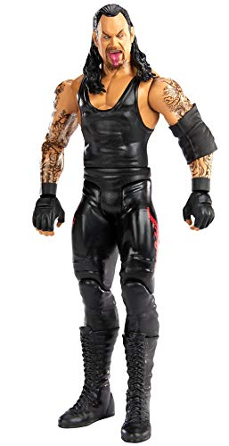 WWE Undertaker Basic Series #109 Action Figure in 6-inch Scale with Articulation & Ring Gear