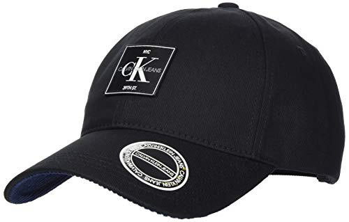 Calvin Klein Cap MT Gorro/Sombrero, Negro, Taille Unique para Hombre