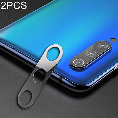 Buena 2 PCS 10D Cobertura completa Teléfono móvil Metal Cámara trasera Lente Protección Anillo Cubierta for Xiaomi Mi 9 (Negro) Shiningxie (Color : Silver)