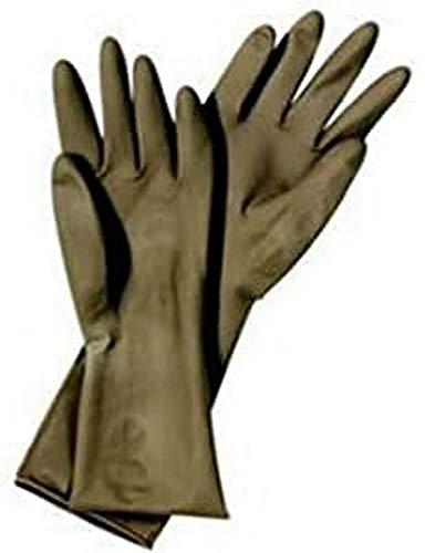 Matador Latex-Friseurhandschuhe zur Mehrfachverwendung, 1 Paar, Größe 6,5 18 cm Handumfang