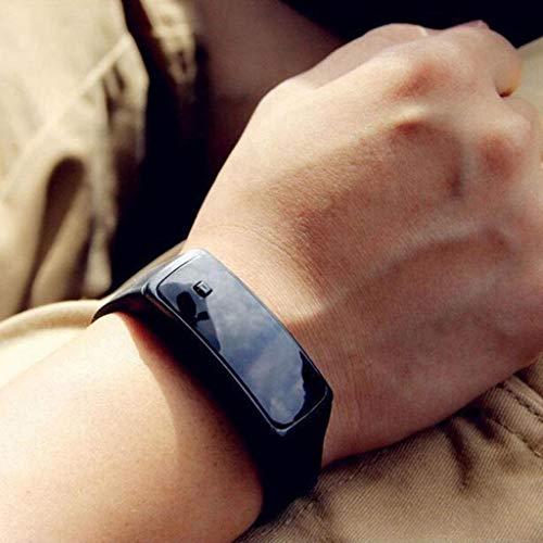 Nukana Spot Benutzerdefinierte Zweiten Generation Student Sport Elektronische Uhr Kinder Werbegeschenke LED Silikon Uhr LED Uhr Weiß