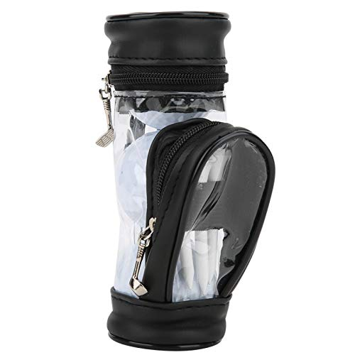 DAUERHAFT Golf Ball Bag Leder Multifunktion, für das Training