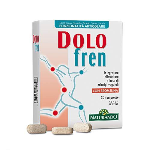 Naturando Dolofren 30 Compresse Integratore Alimentare per la Funzionalità Articolare - 50 Gr