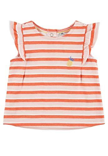 TOM TAILOR Kids T-Shirt Striped, Multicolore (Printed Stripe|Multicolored 0009), 68 Bébé Fille