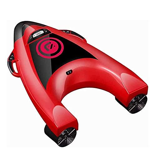 WBJLG Patinete eléctrico subacuático para Tabla de Surf con función de Control de 5 velocidades, zócalo, Patinete de mar, Tabla de natación para esquí acuático, Apto para natación Superficial
