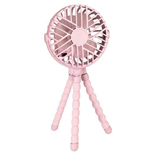 Mini Ventilador Para Berco E Carrinho Rosa, BUBA, Rosa