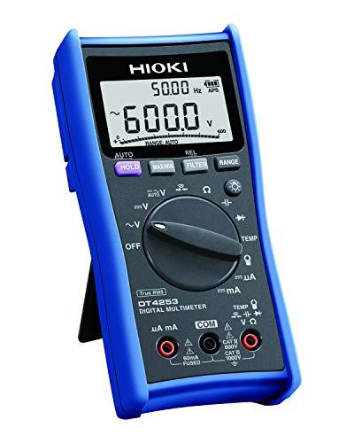 HIOKI(日置電機) DT4253 デジタルマルチメータ (計装用DCmA/温度レンジ搭載)