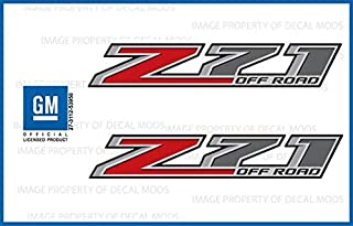 Chevy Silverado Z71 Offroad Truck Stickers Decals - F (2014-2017) Bedside (Set of 2)