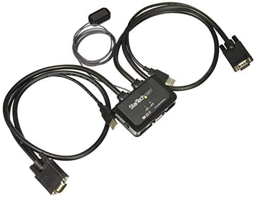StarTech.com SV211USB - Switch conmutador KVM 2 Puertos