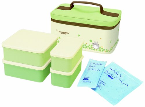 Bento: Studio Ghibli Totoro Design Food Container Lunch Boxes Set by Totoro