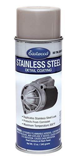 Eastwood Stainless Steel Detail Paint Coating Protects from Corrosion 12 Ounce Aerosol