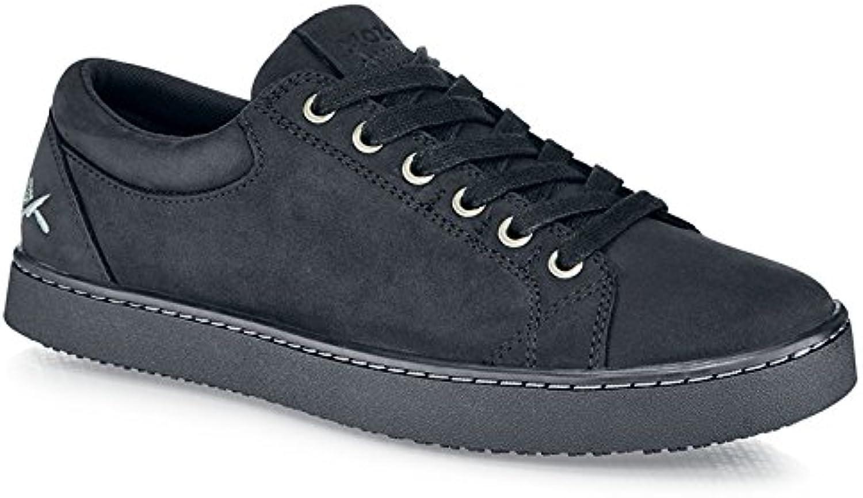 Schuhe for Crews M11057-44 9.5 MOZO FINN Herren-Turnschuhe, Schnürung, rutschhemmend, Größe 44 EU, Schwarz