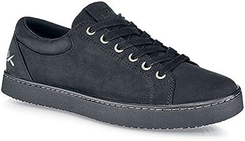 Chaussures pour Crews M11057–47 12Mozo Finn pour homme à lacets paniers, antidérapant, 12UK, Noir