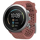 Suunto 3 Fitness Tracker Sports Watch, Granite Red