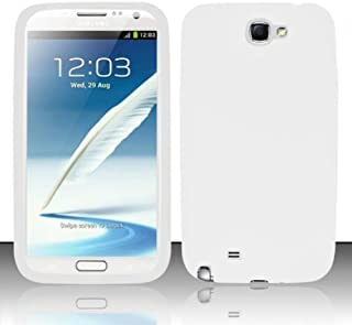 For Samsung Galaxy Note 2 N7100 - PREMIUM Silicon Skin Case - White