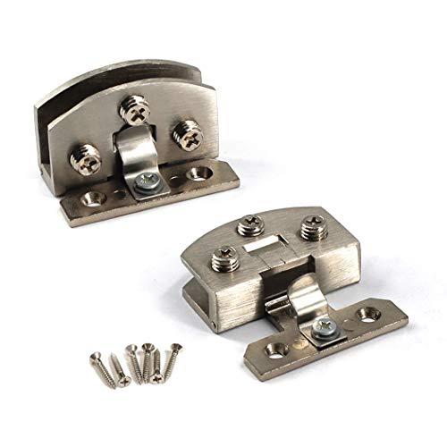 Charnière pour porte de douche en verre - En alliage de zinc - Avec clip de serrage,...