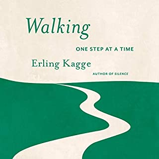 Walking audiobook cover art