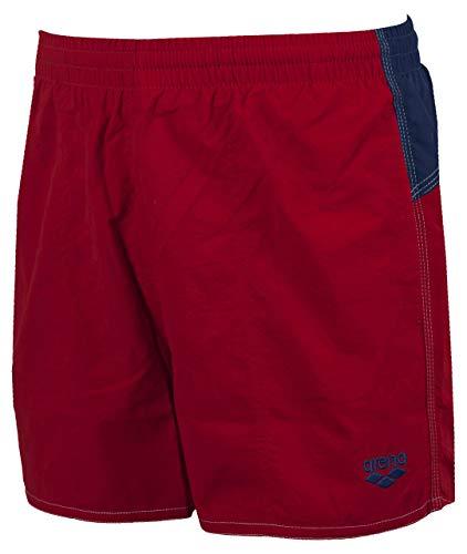 ARENA Bywayx Bicolor Pantaloncino Mare da Uomo, Shiny Red-Navy-White/Rosso,...