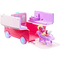 Little Live Pets Scruff-a-Luvs Surprise Ambulance Vet Set with a Doctor's Bed