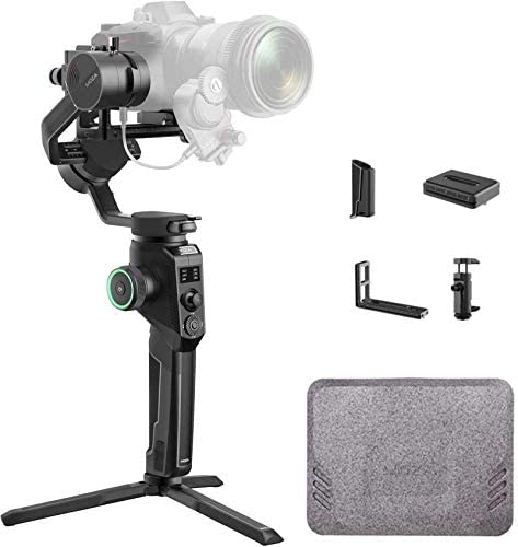 MOZA AirCross 2 3 Axis Handheld Gimbal Stabilizer with Phone Holder and ARCA Quick Shoe Compatible product image