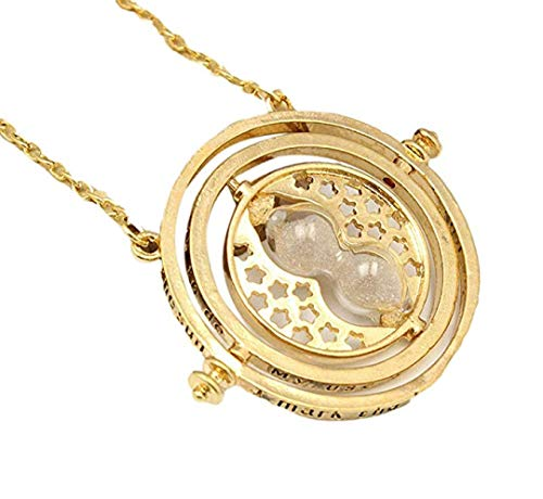 Floray Collana replica del Giratempo di Hermione Granger, Harry Potter