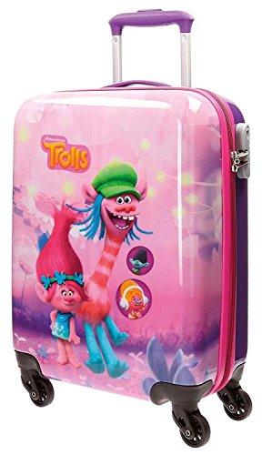Trolls Friends kinderbagage, 55 cm, 35 liter, roze