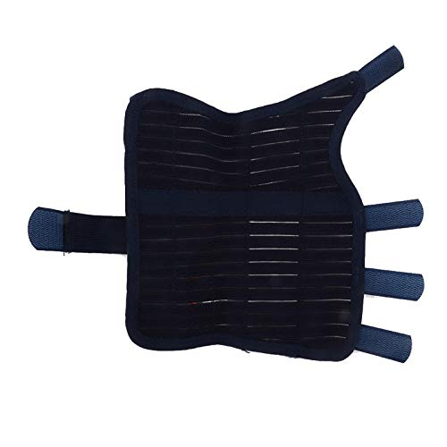 Protección correctora de chapa de acero transpirable Banda protectora de sujeción de la muñeca contra esguince, artritis, dolor en las articulaciones [L], sujeción de la muñeca Muñeca manos y articul