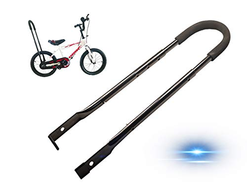 MOLI DEE Children Cycling Bike Safety Trainer Handle Balance Push Bar (a-Black)