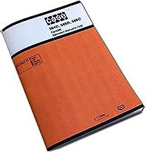 J I Case 584D 585D 586D Forklift Operators Owners Manual 9-7330 Lift