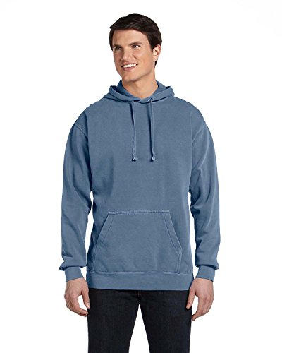 Comfort Colors 1567 Garment-Dyed Pullover Hood - Blue Jean - L