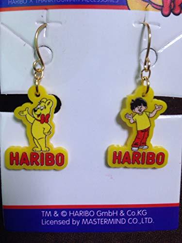 ハリボー HARIBO グミ ピアス ゴールドベア アクセサリー