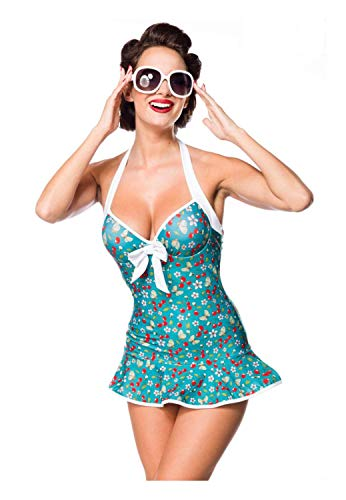 Belsira Damen Vintage Swimdress XL