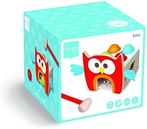 Scratch Toc-Toc Lou Owl Toddler Toy by Scratch
