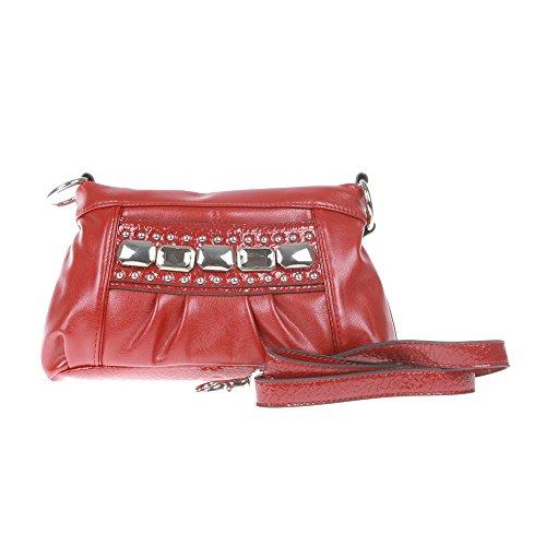 KATHY Van Zeeland Damen U Handtasche Rot H53505 RED BRICK