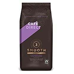 Fairtrade 100% arabica Vibrant, full flavoured & just a hint of spice Omnigrind - suitable for vending machines, filter machines and cafetières