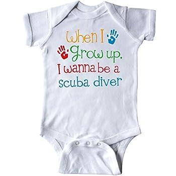 inktastic Future Scuba Diver Childs Diving Infant Creeper 6 Months White 322c6